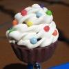 Sweet Rainbow Cupcake Ring