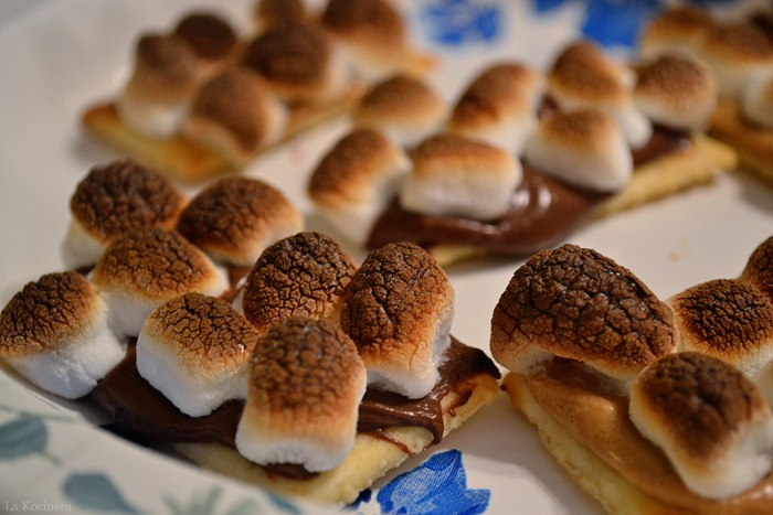 peanut butter marshmallow crackers