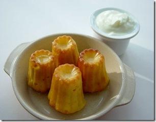 Mini Lemon Babas