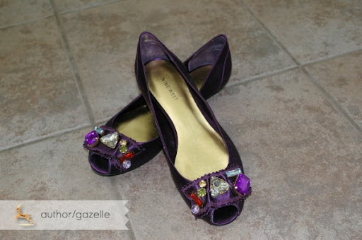 wedding shoes vancouver Gaz3 gaz3 So cute right Purple satin and all