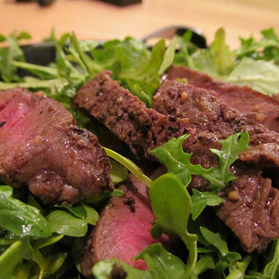 Rib Eye and Arugula Salad