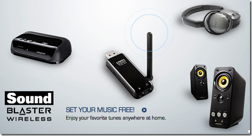 Wireless Audio