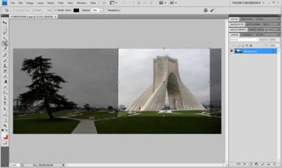 برش عکس ها با استفاده از برنامه فتوشاپ - Copy