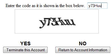 کد را وارد کنید و yes را بزنید