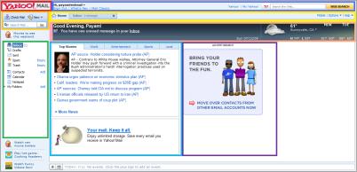 ورود به صفحه اصلی ایمیل یاهو برای اولین بار