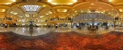 لابی هتل بزرگ داریوش کیش