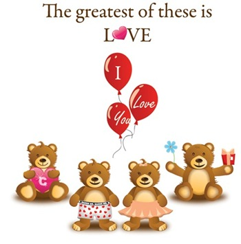 LovelyTeddyBearVectorGraphicPreview