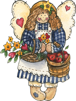 gjane_coutnry angel with apple basket