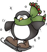 Penguin Skateing