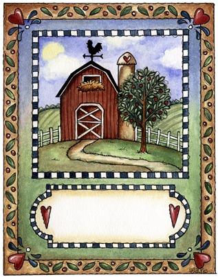 imagens decoupage clipart Farm