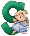 Angel Letter G