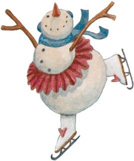 Christmas Snowman - Painted - _-765745