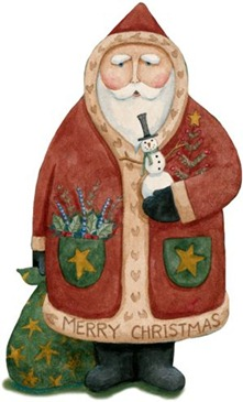 Christmas Snowman - Painted - _-792640