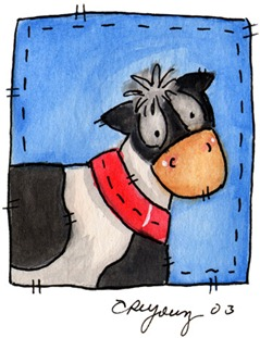 Imagens decoupage  Cow