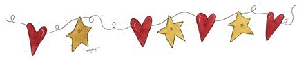 Imagens decoupage  BDR Heart Star
