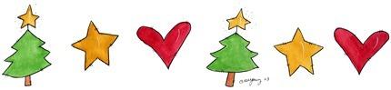 Imagens decoupage  BDR Tree Star Heart