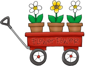 Flower Power Wagon