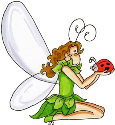 Fairy and Ladybug