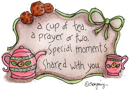 clipart imagem decoupage  Cup of Tea