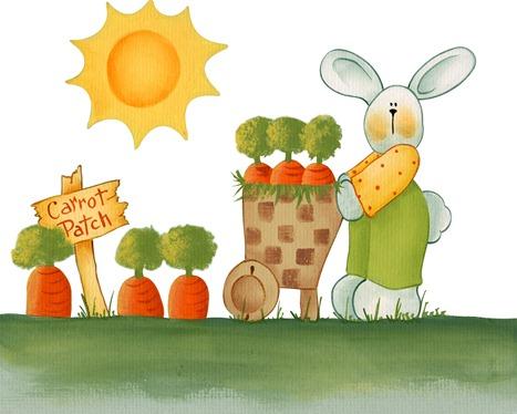 imagens decoupage clipart figura decoupage  Carrot Patch