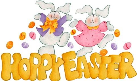 imagens decoupage clipart figura decoupage  Hoppy Easter