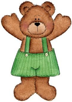 clipart imagem decoupage ursos  BEARING ALL SEASONS 14 (9)