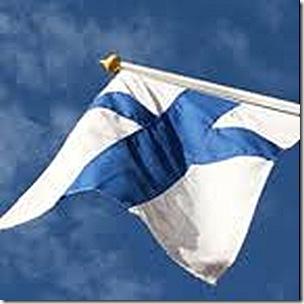 Bandeira da Finlândia 2