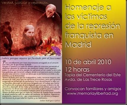 Homenaje víctimas 2010