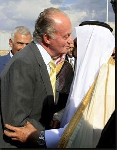 Juan Carlos y Abdullah