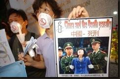 China, pena de muerte