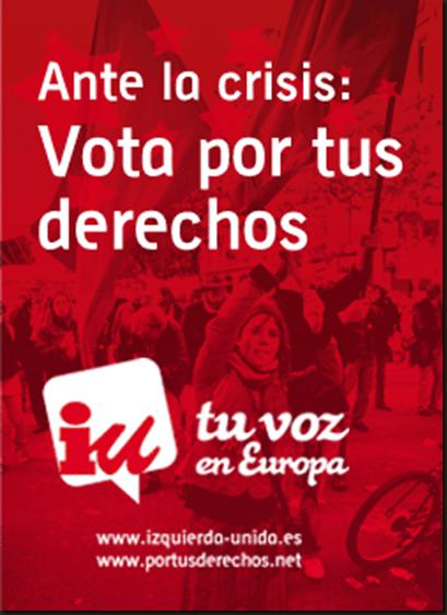 Elecciones europeas IU genérico