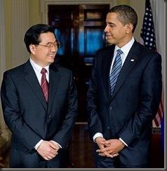Obama y Hu Jintao
