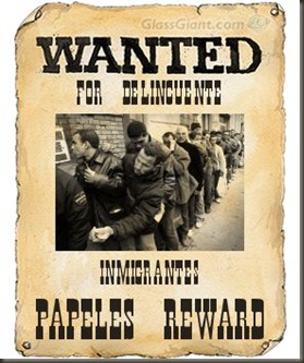 Wanted inmigrantes