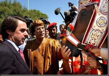 Gadafi Aznar