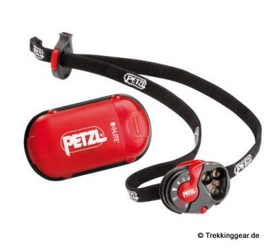 Petzl e+LITE – 28 g für eine Stirnlampe = Ultralight