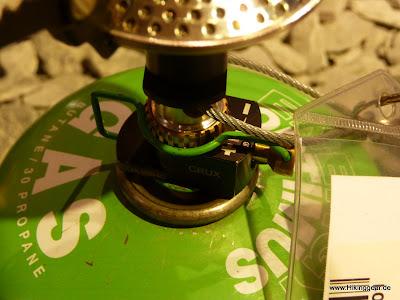 Monatauk Gnat der ultraleichte Gaskocher mit 47 g | Ultralight Trekking