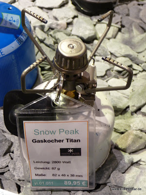 Snow Peak Giga Stove – Titanium GST-100 – Die Vorfreude auf den New LiteMax wächst
