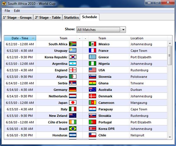 Muat turun jadual bola sepak Piala Dunia percuma