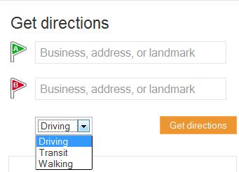 Bing Maps saingan Google Maps
