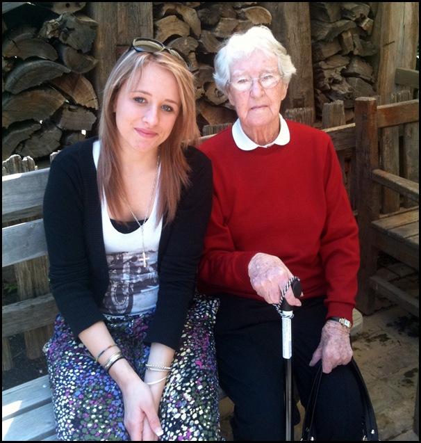 Tess and Nanny