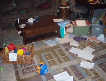 kids destroyed house