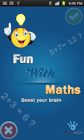 Screenshot of Fun With Maths - Online