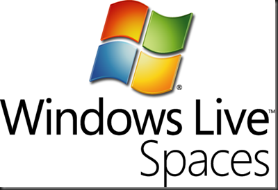 Windows Live Spaces logo c v