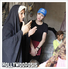 Video: Angelina Jolie y su visita a refugiados en Irak
