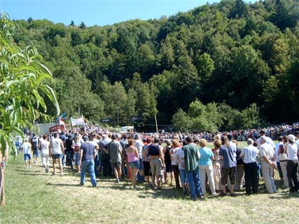 Obiskovalcev je bilo letos rekordno število.