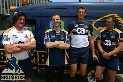 New Brumbies strip