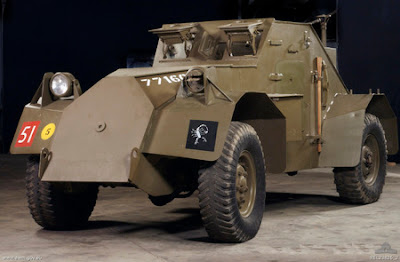 Dingo armoured scout vehicle