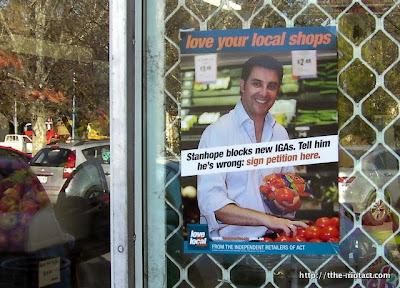 revolting grocer