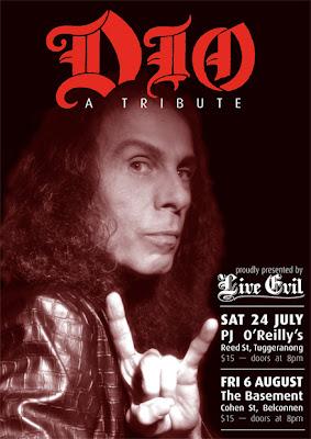 Dio tribute poster