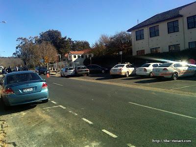 Manuka police presence